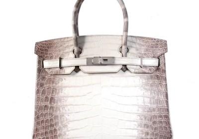 Hermès(爱马仕)birkin 铂金包 喜马拉雅 鳄鱼 银扣 30cm